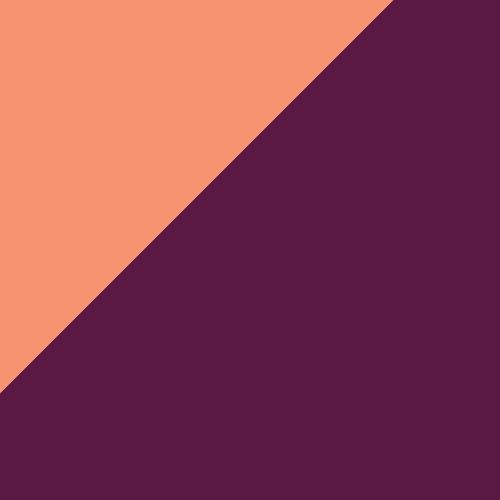 Cantaloupe/Nude/Eggplant