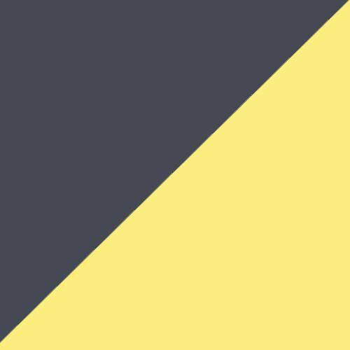 Charcoal/Yellow